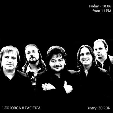 poze leo iorga pacifica live in tribute