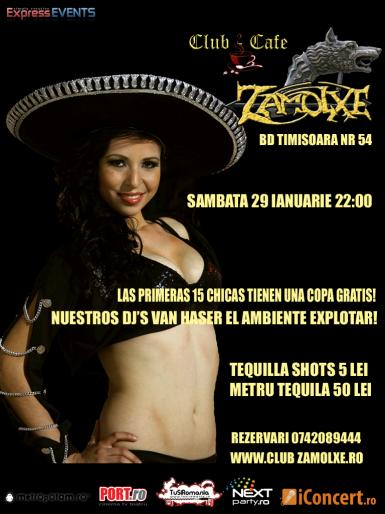 poze tequilla party club zamolxe