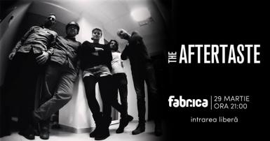 poze the aftertaste live at club fabrica