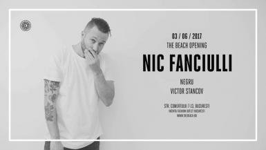 poze the beach opening with nic fanciulli negru victor stancov