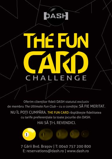 poze the fun card challenge