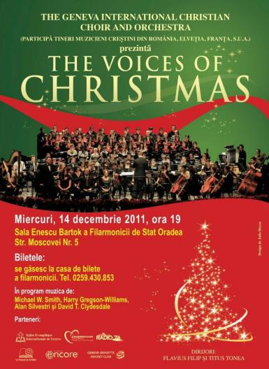 poze the voices of christmas