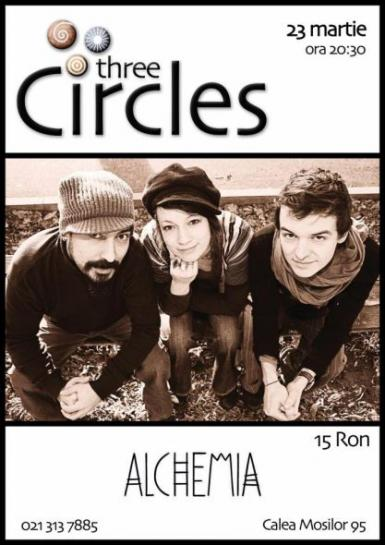 poze three circles in club alchemia