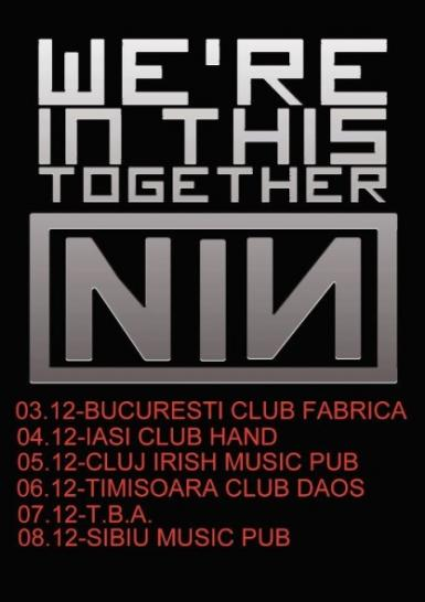 poze tribut nine inch nails in cluj