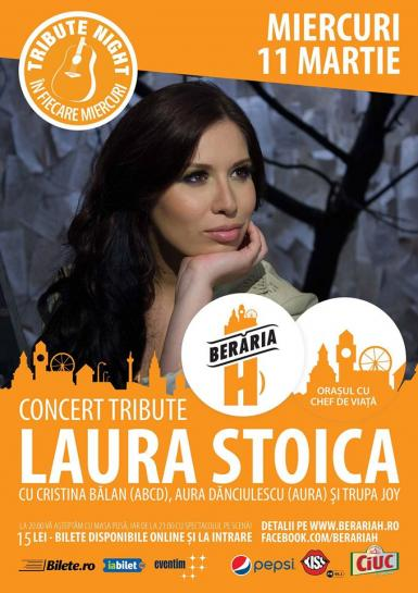 poze tribute night laura stoica
