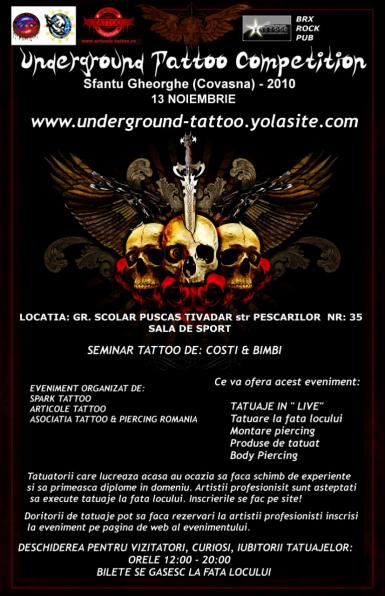 poze underground tattoo competition
