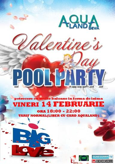 poze valentine s day big love pool party