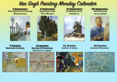 poze van gogh painting monday paint your own van gogh