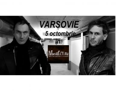poze varsovie fr post punk dark wave live in manufactura