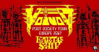 poze concert voivod earth ship