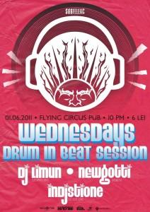 poze wednesdays drum in beat session