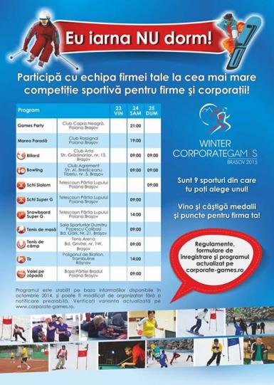 poze winter corporate games