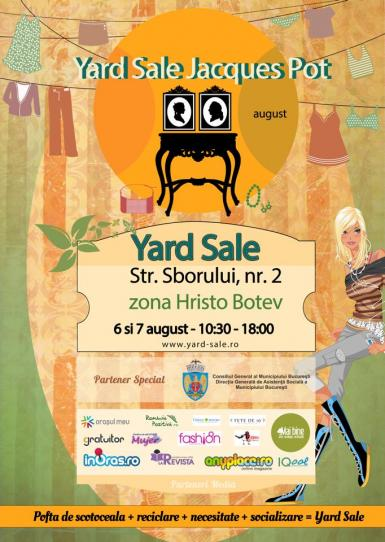 poze yard sale de august la jacques pot