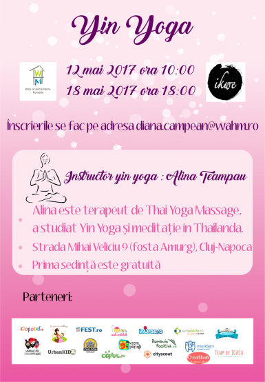 poze yin yoga eveniment marca work at home moms