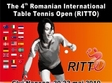 al 4 lea open international de tenis de masa al romaniei ritto cluj