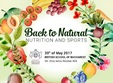 back to natural nutrition and sports