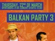 balkan party 3 in kulturhaus