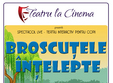 broscutele intelepte happy cinema din liberty center