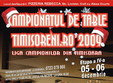 campionat de table