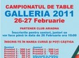 campionatul de table galleria 2011