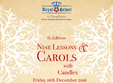christmas concert of nine carols with candles second edition