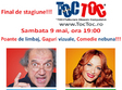 comediatoc toc la final de stagiune sambata 9 mai