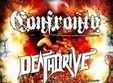 concert confronto si deathdrive in club control