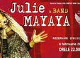 concert julie mayaya band