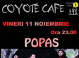 concert popas band in coyote cafe