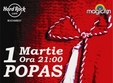 concert popas band in hard rock cafe