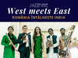 concert west meets east romania intalne te india