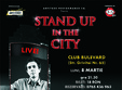 costel stand up in the city in club bulevard brasov
