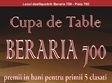 cupa de table beraria 700
