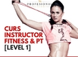 curs instructor fitness si pt level 1 cluj editia vi