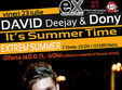 david deejay dony in extrem summer club