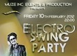 electro swing party in club frame