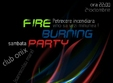 fire burning party