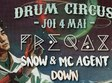 freqax snow mc agent down at flying circus