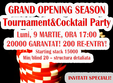 poze grand opening season tournament cocktail party