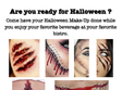 halloween make up 31 octombrie 2019