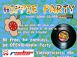 hippie party in open pub