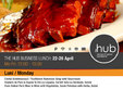 hub business lunch 22 26 april 2013
