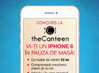 ia ti un iphone 6 in pauza de masa la the canteen