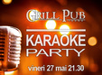 karaoke party pe terasa grill pub