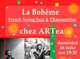 la boheme french swing jazz chansonete live
