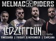 led zeppelin tribute with melmac riders in timi oara
