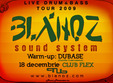 live drum and bass in club flex cu blanoz