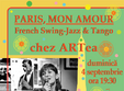 paris mon amour concert live french swing jazz