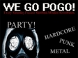 party we go pogo in pub zone din cluj