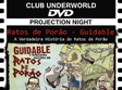 proiectie true history of ratos de porao in underworld